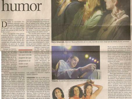 Mujeres de buen humor, Revista Tendencia.