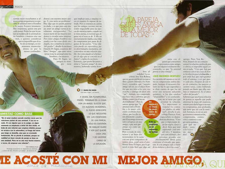 Me acosté con mi mejor amigo, Revista Tendencia.