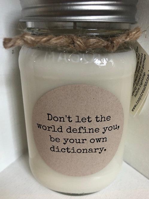Mason Jar Soy Candles