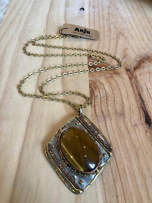 Mixed Metal & Gemstone Necklaces