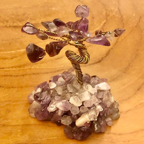 Crystal Gemstone Bonsai Tree