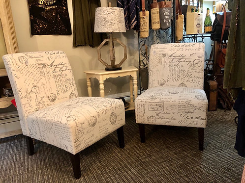 French Slipper Chairs
