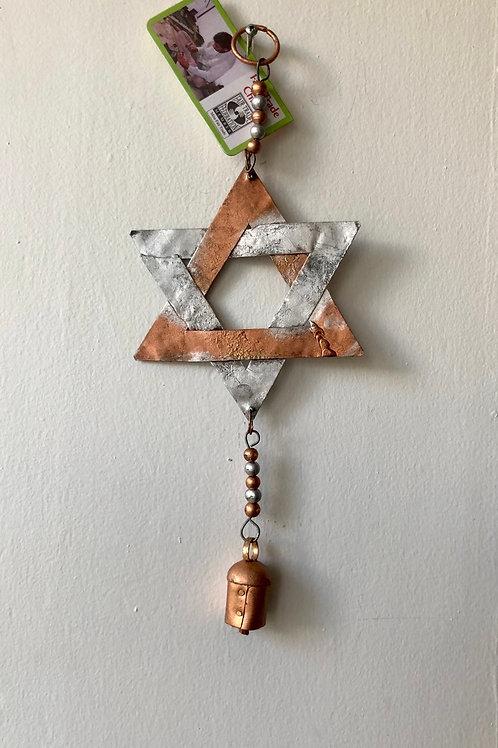 Jewish Star Wind Chime