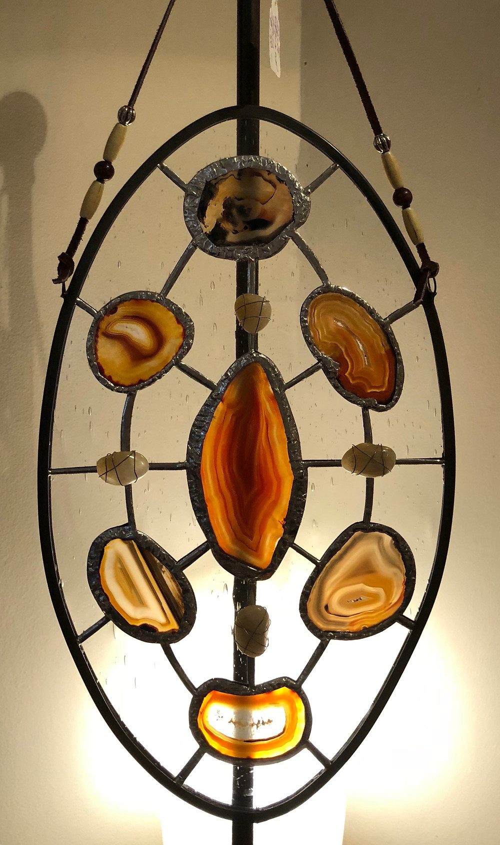 Stained Glass Crystal Grid by Debbie