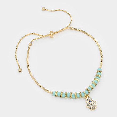 Sacred Symbol Adjustable Bracelet