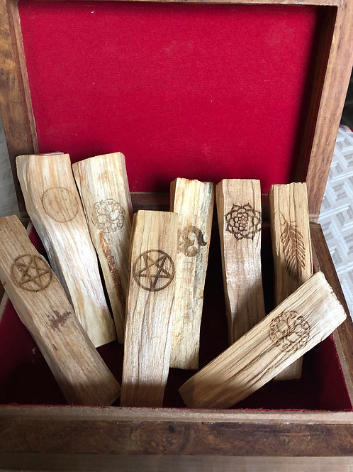 Palo Santo Sticks w/ Design