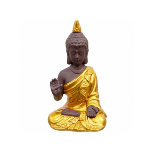 Hand Painted Little Buddha & Kwan Yin