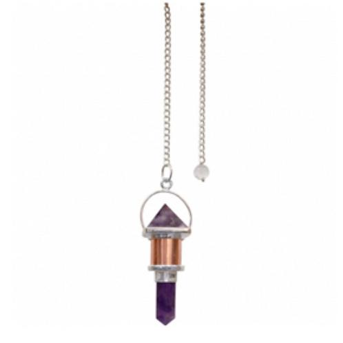 Gemstone Pyramid Pendulums
