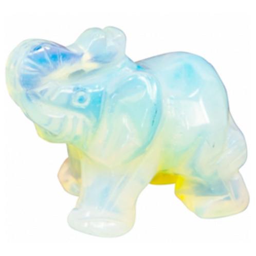 Opalite Elephant Spirit Animal