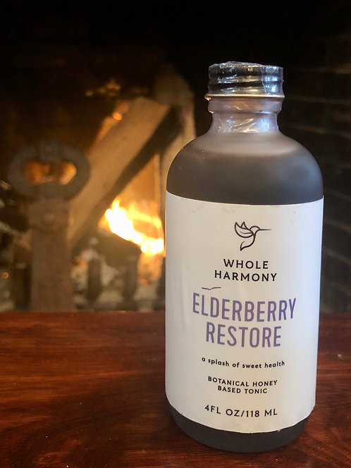 Elderberry Restore Tonic