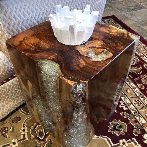 Pedestal Side Tables