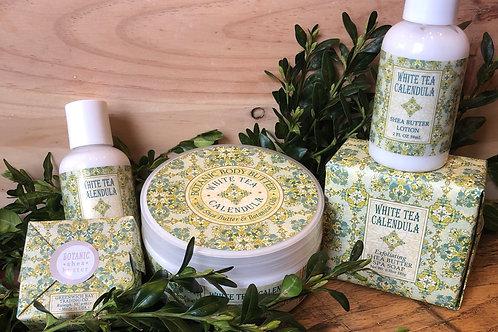 White Tea Calendula Shea Butter Spa Products