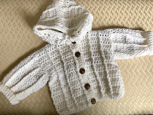 Hand Crochet Baby/Toddler Sweaters