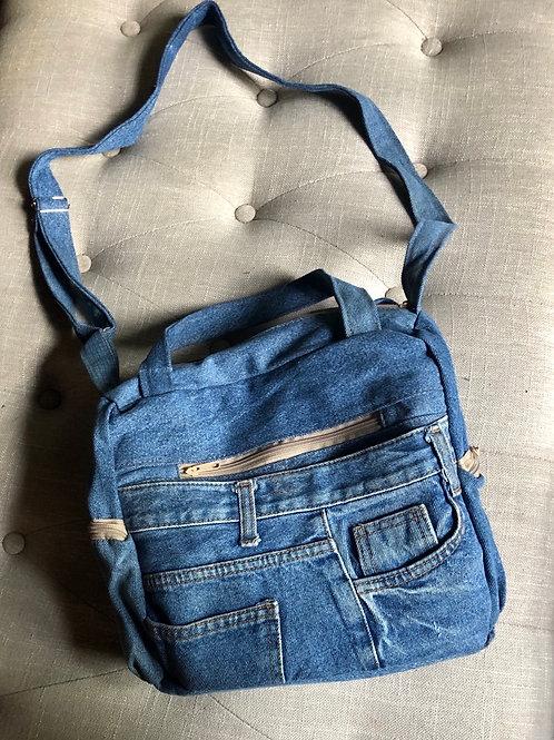 Denim Jean Crossbody Bags