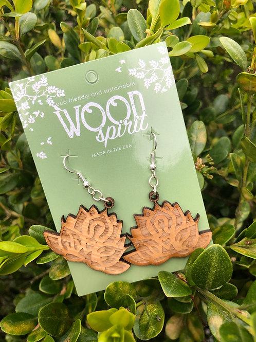 Wood Spirit Earrings