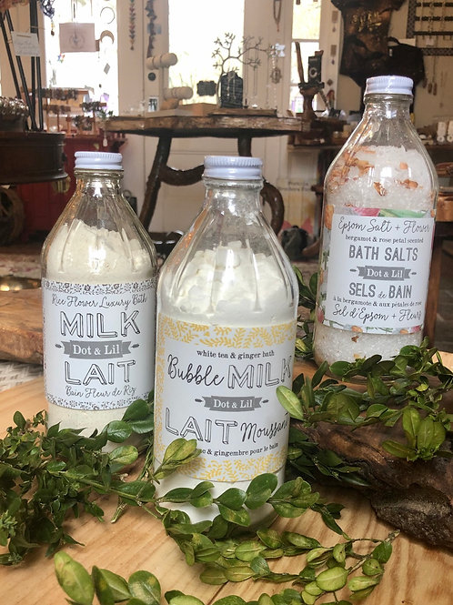 Heirloom-Inspired Bath Products