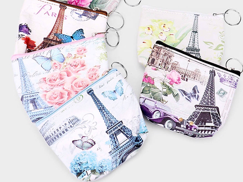 French Themed Coin Purse