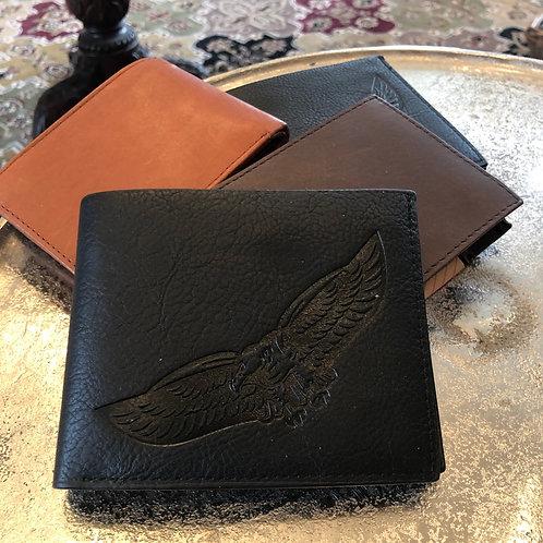 Men's Leather Bi-Fold Wallets