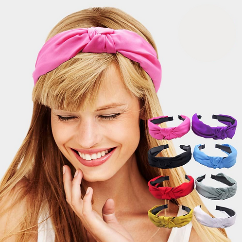 """Headbands with """"Mask Buttons"""""""