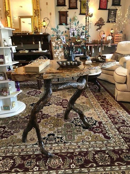 Stunning Handmade Birch Table