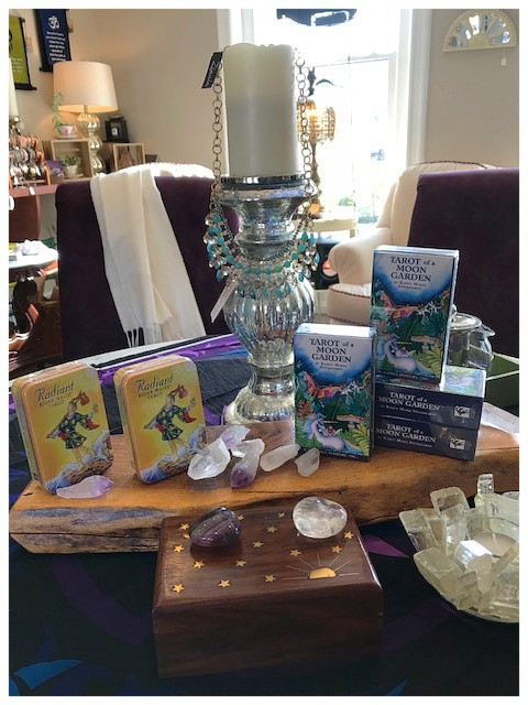 Tarot Workshop Tonight, March 8th at 6:30pm With Adrienne of Mad Lavender Farm