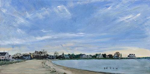 Gray Gables Beach by artist Jason Pritchard