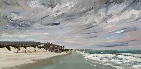 Chapoquoit Beach in Cape Cod artwork by Jason Pritchard