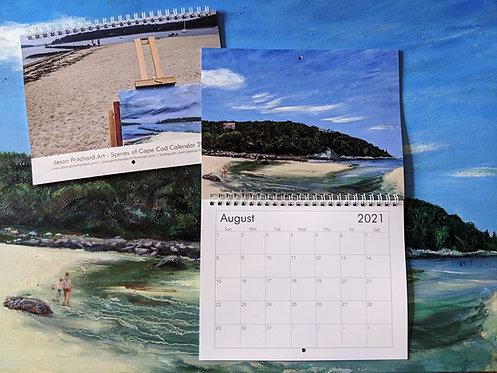Cape Cod 2021 Calendar