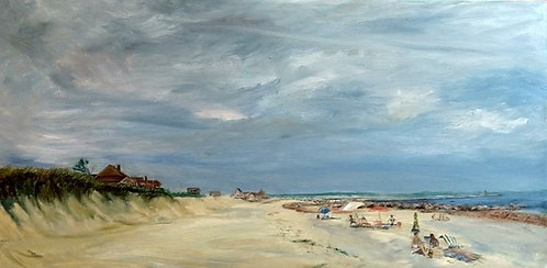 Town Neck Beach Painting by artist Jason Pritchard
