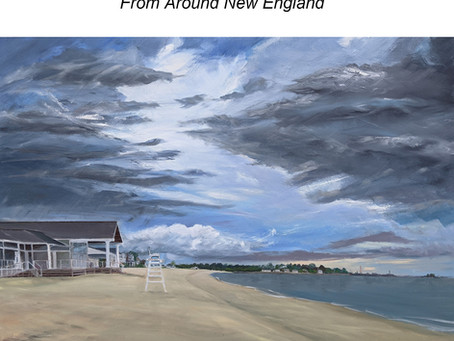New Solo Art Show:                                        'Beside the Seaside, Besides the Sea!'