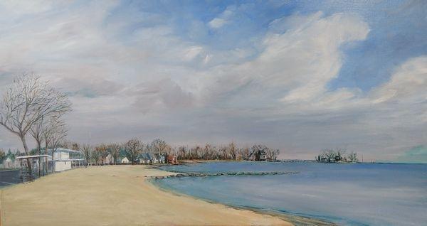 Cummings Park Beach, Stamford