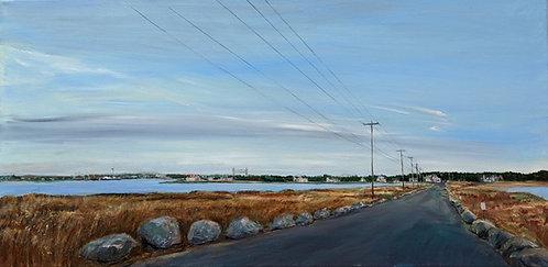 Mashnee Island Painting by artist Jason Pritchard