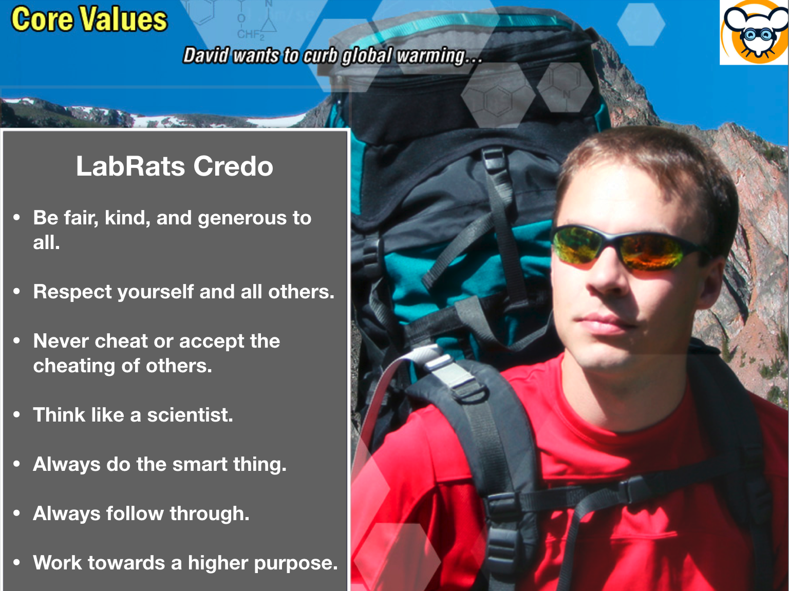 LabRats Core Values