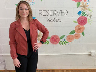 RESERVED Salon Grand Opening