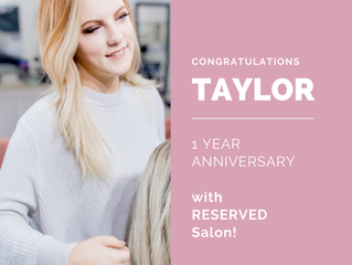Taylor's One Year Anniversary At Reserved