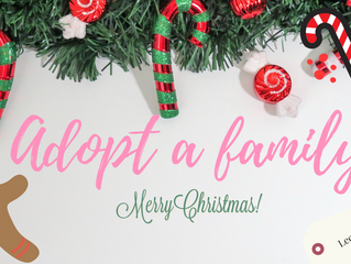 RESERVED Salon Christmas Adopt-A-Family 2019