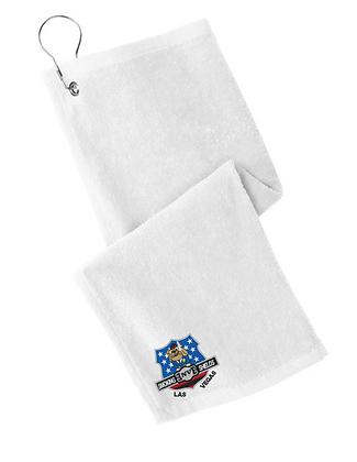 Smoking Shields Golf Towels
