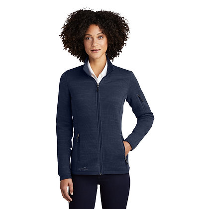 Eddie Bauer Ladies Sweater Fleece Full Zip Up