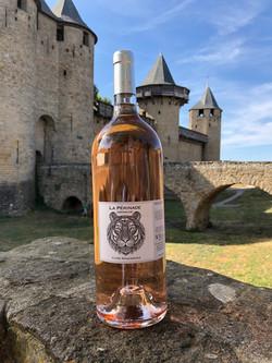 Vin rosé région de Carcassonne