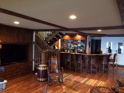 Interior remodel.