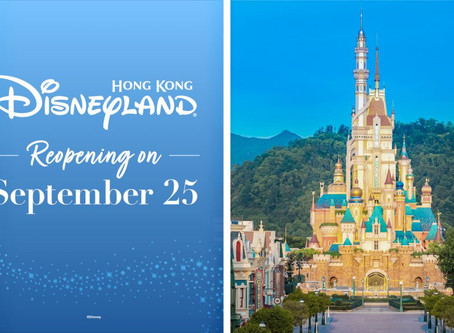 Hong Kong Disneyland Opens Today!