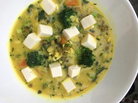 Nourishing, flu beating soup