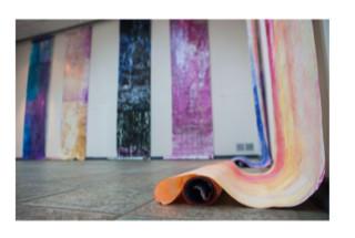 122 Conversations installation image