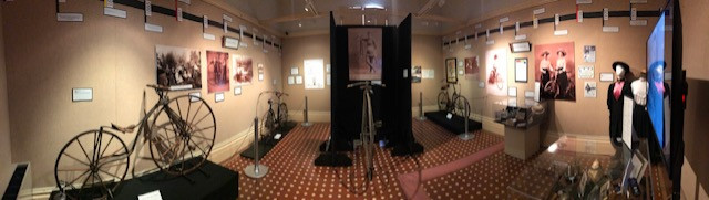 Panorama of Spokes and Folk install - Room 2