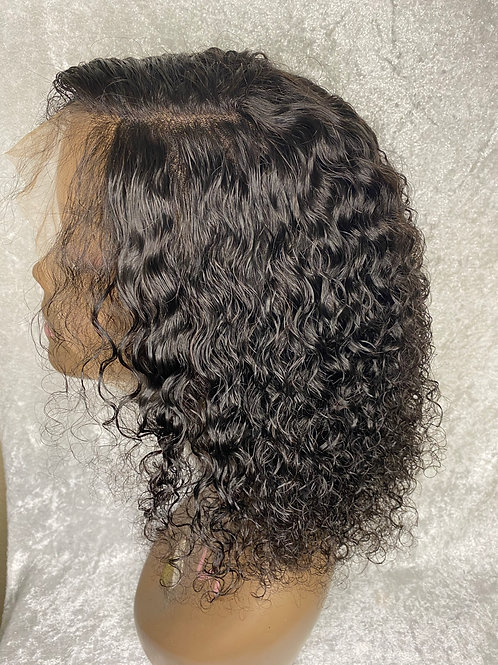 Divine Hair Collection Curly Wave Lace Front Wig