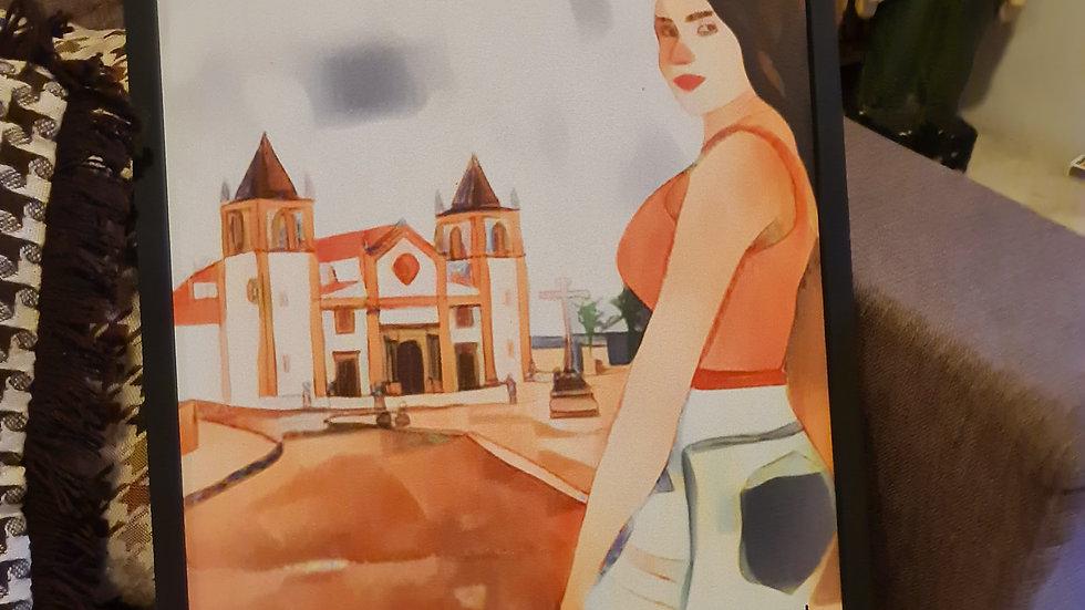 A Mulher e a Sé de Olinda
