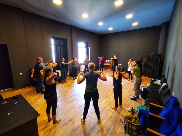 Rustaveli Theatre Training
