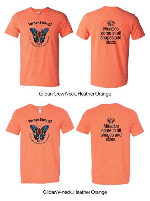 Turner Strong camiseta naranja