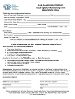 Application form for Blue Jeans for Butterflies