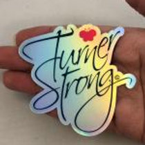 Turner Strong Holographic Sticker